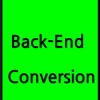 Back end conversion